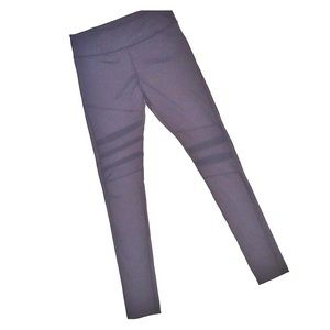 Electric Yoga Black Leggings w/ mesh cut outs pant